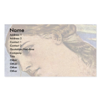 The Heavenly Love Detail, By Tiziano Vecellio Pack Of Standard Business Cards