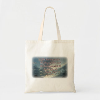 The Heavens Declare His Glory Tote Bag