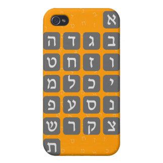 The Hebrew Alphabet iPhone 4/4S Cases
