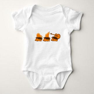 The Hedgehog Gang Baby Bodysuit