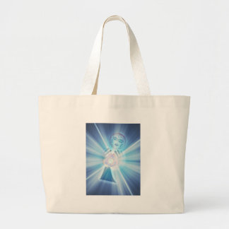 The heirophant large tote bag