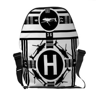 The Helicopter Edition Courier Bag