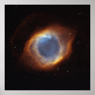 The Helix Nebula. Poster