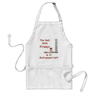 The Hell With Friday Apron