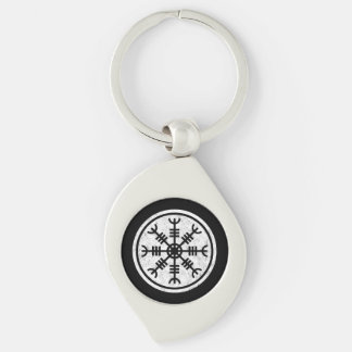 The Helm Of Awe Key Ring