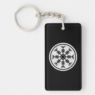The Helm Of Awe Vikings Key Ring