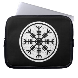 The Helm Of Awe Vikings Laptop Sleeve