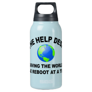The Help Desk - Saving The World 0.3L Insulated SIGG Thermos Water Bottle