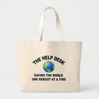 The Help Desk - Saving The World Tote Bag