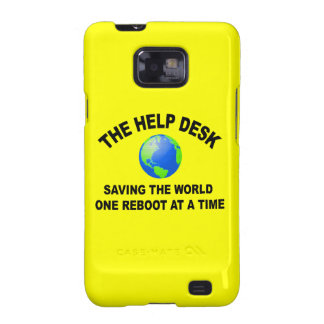 The Help Desk - Saving The World Galaxy S2 Covers