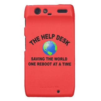 The Help Desk - Saving The World Motorola Droid RAZR Case