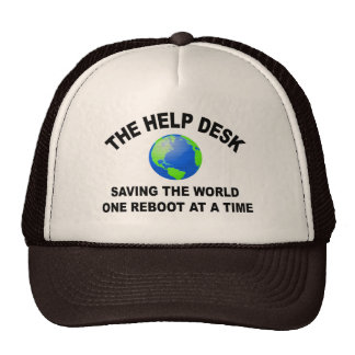 The Help Desk - Saving The World Hats