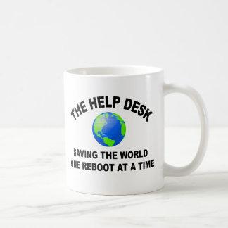 The Help Desk - Saving The World Mug