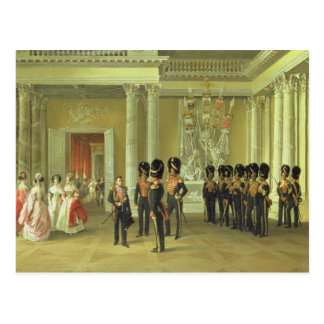 The Heraldic Hall in Winter Palace, St Postcard