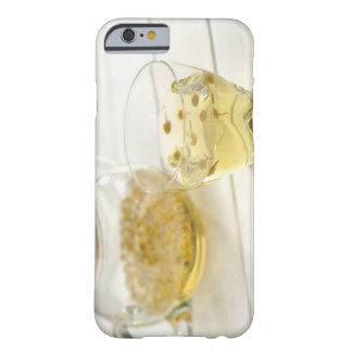 The herb tea which a glass teapot and a cup barely there iPhone 6 case