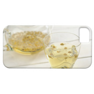 The herb tea which a glass teapot and a cup barely there iPhone 5 case