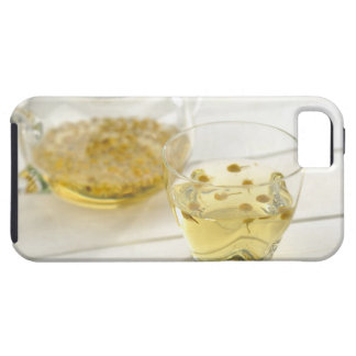 The herb tea which a glass teapot and a cup iPhone 5 cover