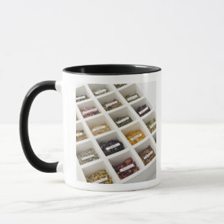 The herbs which a box contains mug