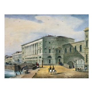 The Hermitage Theatre as Seen from Vassily Postcard