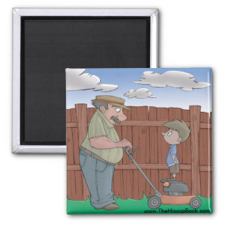 The Hiccup Book magnet - The Neighbor