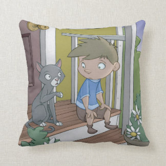 The Hiccup Book - pillow - The Cat