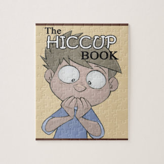 The Hiccup Book puzzle - cover art - 8x10 (110 pc)