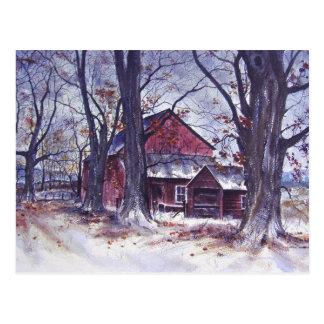 The Hidden Farm House- postcard