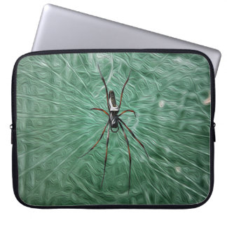 The High Commissioner's Wife Spider Laptop Cover