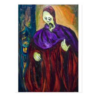The High Priest (expressionism portrait) Postcard