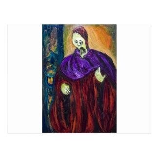 The High Priest (expressionism portrait) Postcard