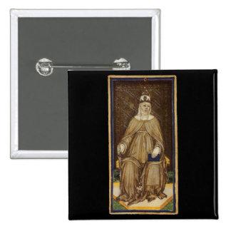 The High Priestess Tarot Card 15 Cm Square Badge