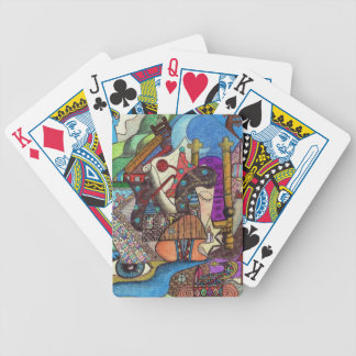 The High Priestess Tarot card by Kaye Talvilahti Bicycle Playing Cards