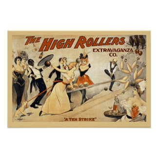 The High Rollers Vintage Poster