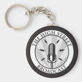 The High Street Broadcast Keychain