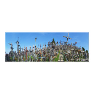 The Hill of Crosses of Northern Lithuania Stretched Canvas Prints