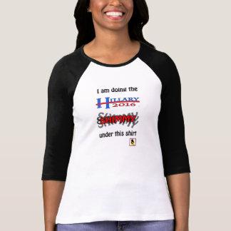 The Hillary SHIMMY shirt