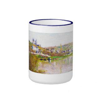 The Hills of Vetheuil, 1880 Claude Monet cool, old Ringer Mug