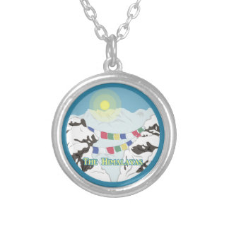 The Himalayas Silver Plated Necklace