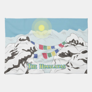 The Himalayas Tea Towel