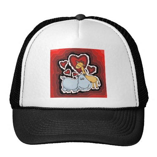 the Hippo, the Giraffe and the Heart. Hats