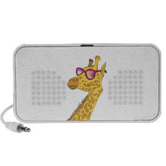 The Hipster Giraffe Travel Speaker