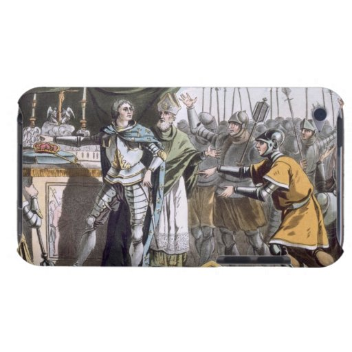The Historic Day of Bouvines in 1214, engraved by Barely There iPod Cover
