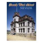 The Historic Fourth Ward School Museum in Nevada Post Card