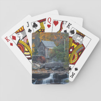 The Historic Grist Mill On Glade Creek 2 Playing Cards
