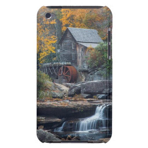The Historic Grist Mill On Glade Creek Barely There iPod Cover
