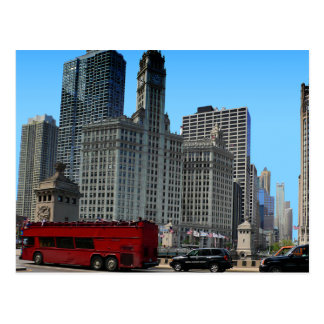 The Historic Wrigley Building Postcard