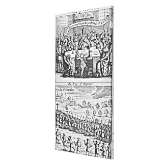 The History of the Holy War: Canvas Prints