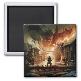 The Hobbit - Laketown Movie Poster Magnet