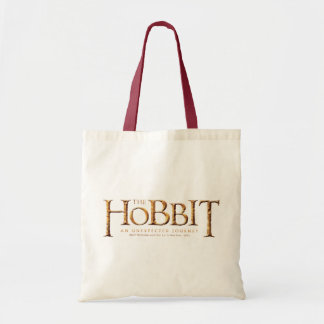 The Hobbit Logo Textured Tote Bag
