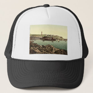 The Hoe, from the Rusty Anchor, Plymouth, England Trucker Hat